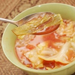 Cách nấu canh bắp cải cà chua