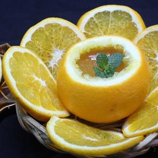 Cách làm rau câu dẻo trái cam