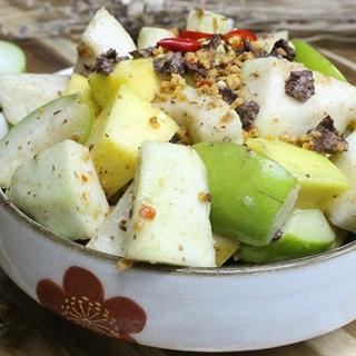 Cách làm trái cây dầm xí muội