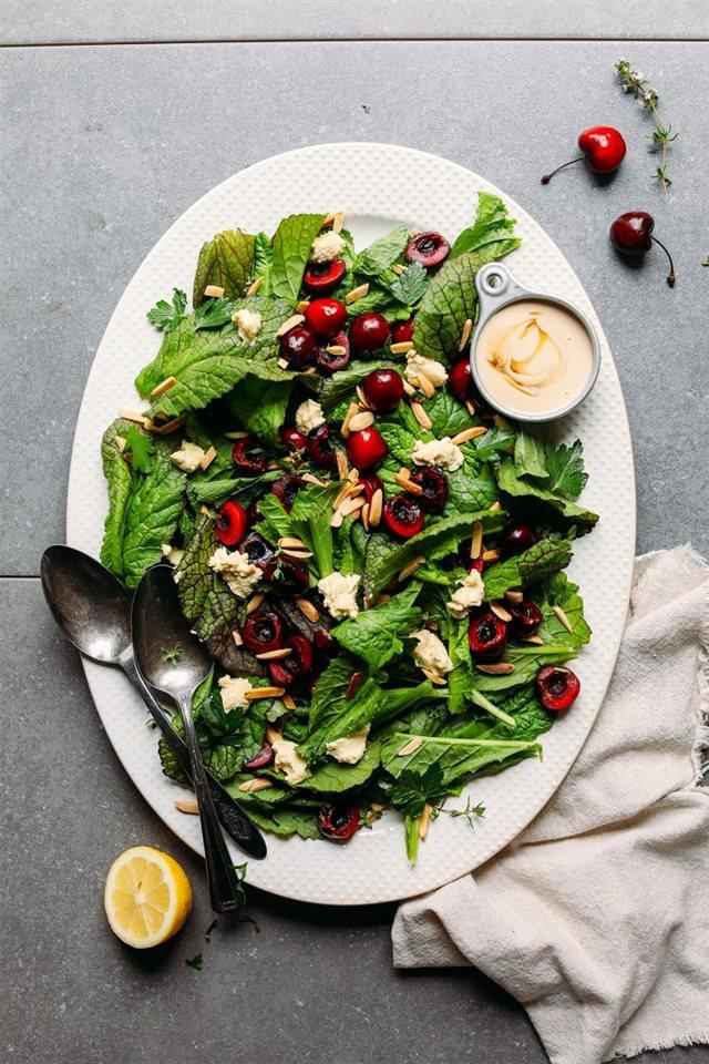 Làm Salad bổ sung thêm chút rau cho cơ thể