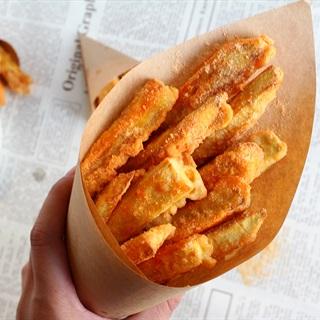 Cách làm Khoai Lang Lắc Phô Mai mặn mặn béo thơm tại nhà