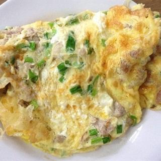 Cách làm Trứng Chiên Thịt Bằm đơn giản đưa cơm cho gia đình