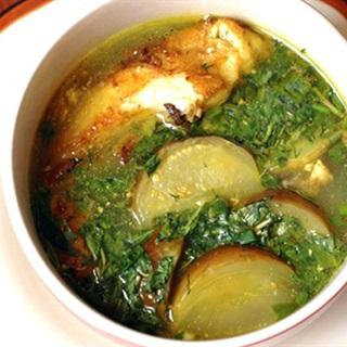 Cách làm canh cá nấu cà tím
