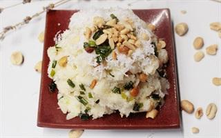 Khoai mì trộn dừa nạo