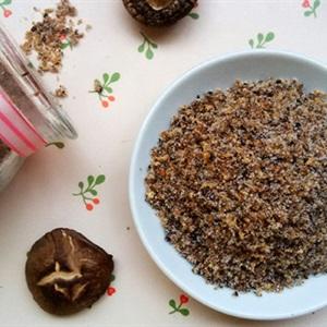 Hạt nêm từ nấm hương