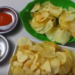 Làm snack khoai tây ngay tại nhà