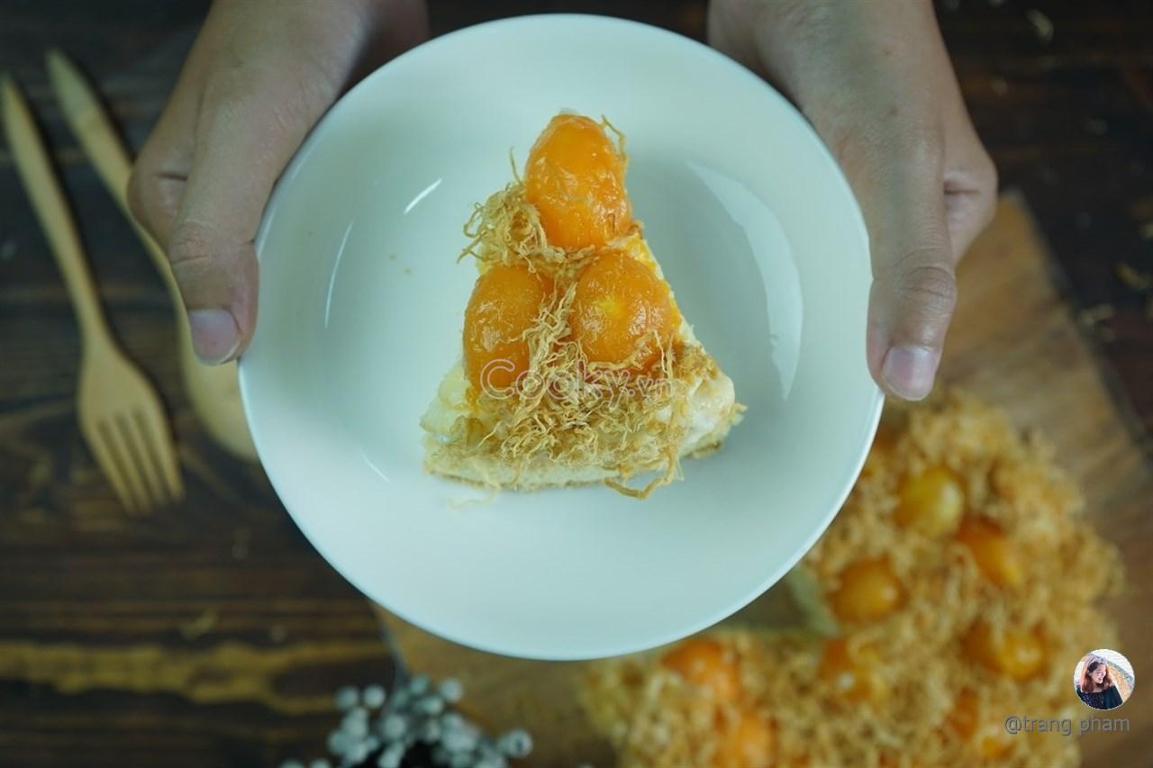 Cách Làm Bánh Bông Lan Trứng Muối Thơm Ngon Đúng Chuẩn - ảnh 2.
