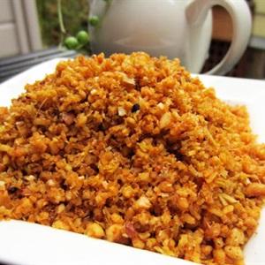 Muối sả ớt mix đậu phộng chay
