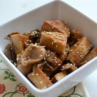 Cách làm chả chay kho nấm