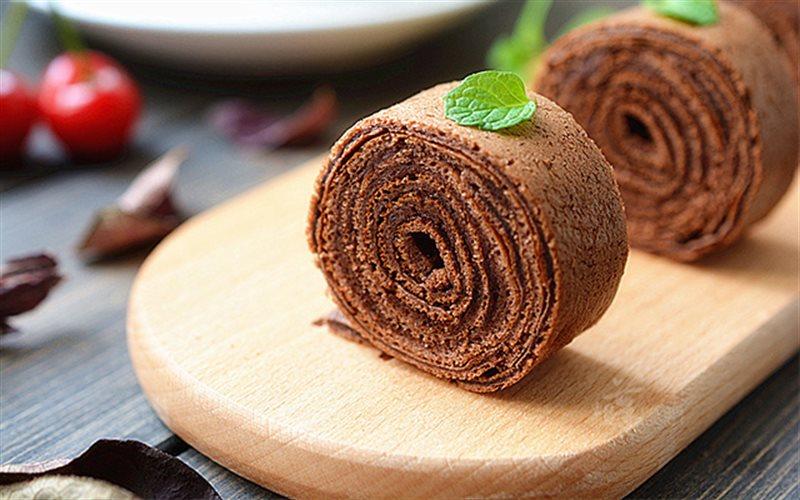 Cách Làm Bánh Bông Lan Chocolate Cuộn | Thơm Ngon