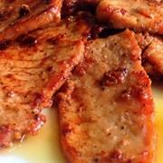 Thịt thăn heo rim nước dừa tươi