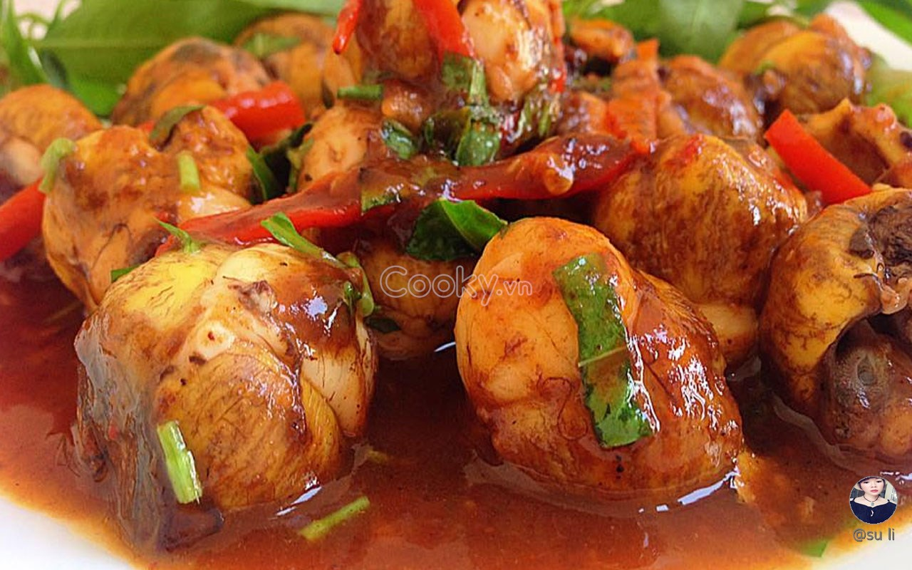 Cách Làm Cút Lộn Xào Me chua chua ngọt ngọt nhâm nhi cực đã