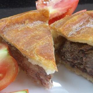Cách làm bánh pie nhân thịt