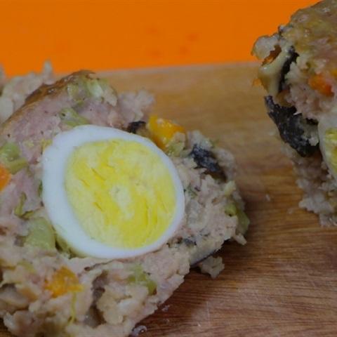 Chả trứng đúc thịt