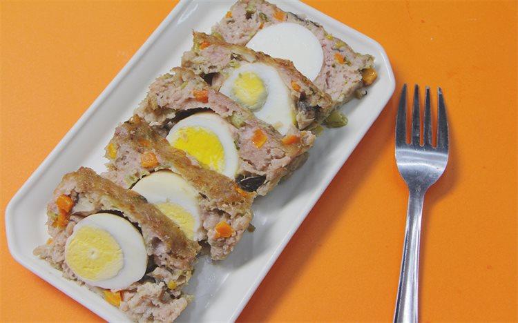 Cách làm chả trứng đúc thịt