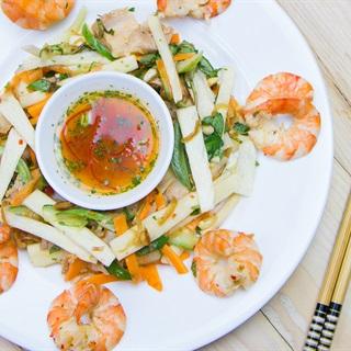 Cách Làm Gỏi Củ Hũ Dừa Tôm Thịt Giòn Ngọt, Hấp Dẫn