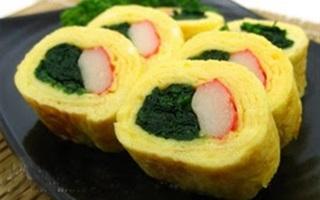 Trứng cuộn thanh cua