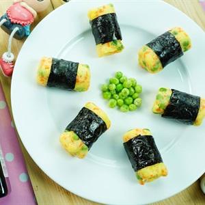 Khoai tây nghiền cuộn rong biển