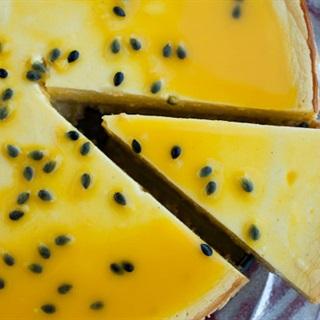 Cách Làm Bánh Cheesecake Chanh Dây Không Cần Lò Nướng