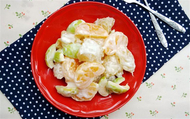 Cách làm salad trái cây ngọt mát
