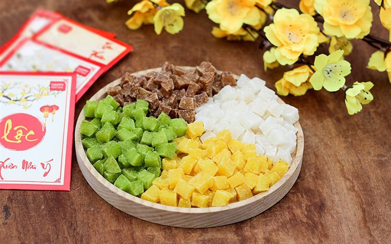 Cách Làm Mứt Dừa Viên thơm ngon đậm đà hương vị ngày Tết