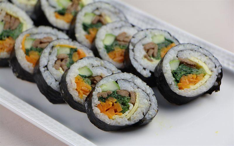 Cách làm Cơm Cuộn Hàn Quốc - Kimbap