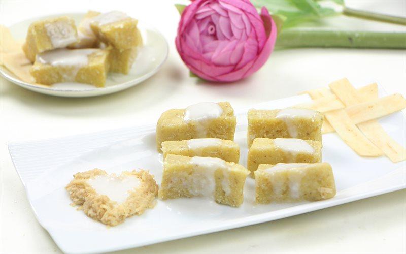 Cách Làm Bánh Khoai Lang Trộn Dừa Hấp