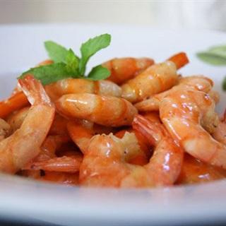 Cách làm tôm sú rim nước cốt dừa