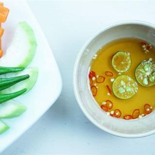 Cách nấu nước mắm tắc chua ngọt