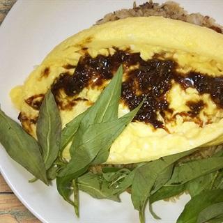 Cách làm trứng chiên Omurice Nhật Bản
