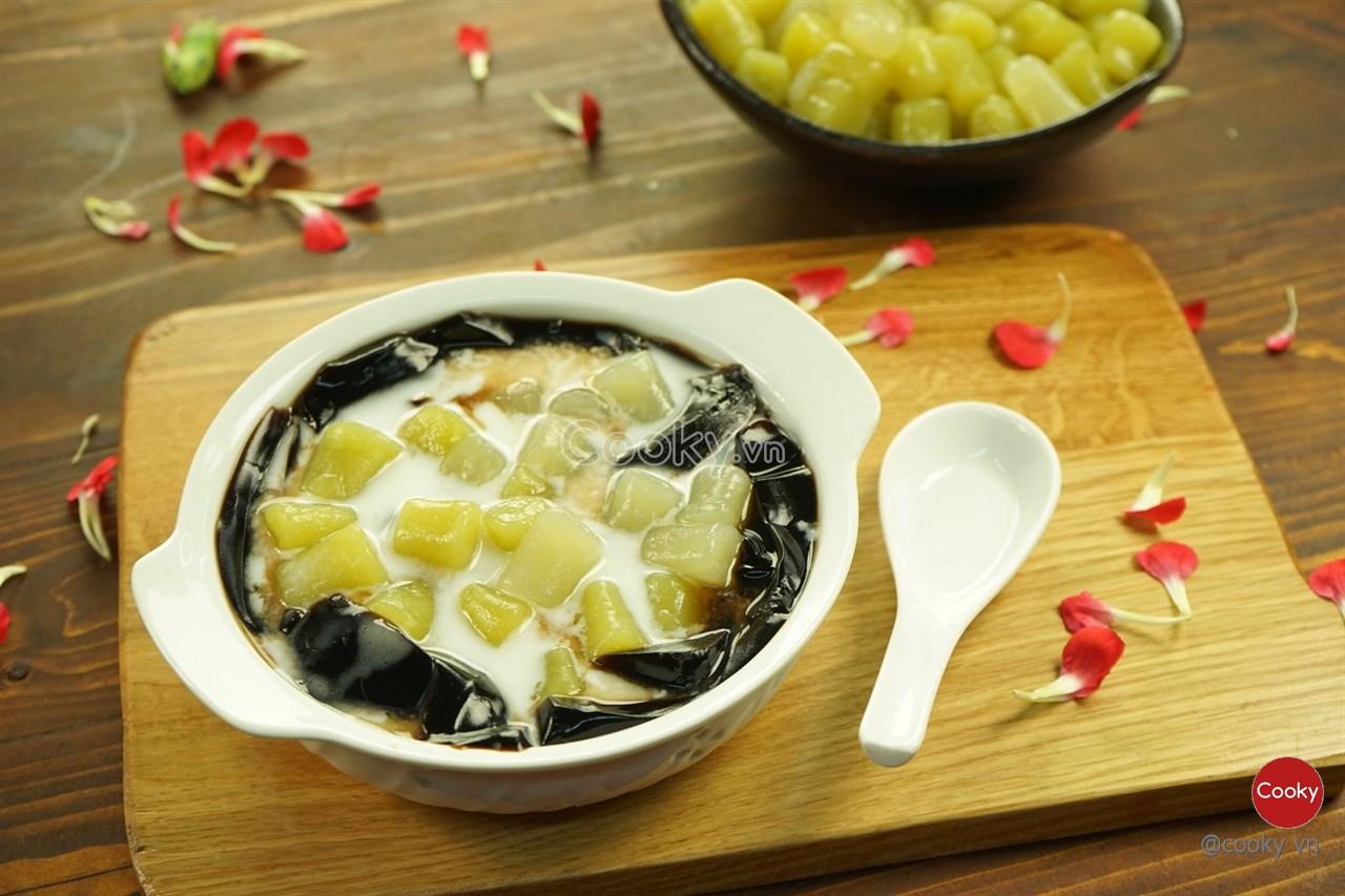 Cách làm chè khoai dẻo Đài Loan dẻo thơm ngon ngất ngây