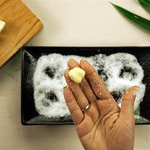 Thạch viên phô mai tươi trà sữa Chi Lăng