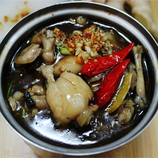 Cách làm cháo ếch Singapore hương tỏi Homemade