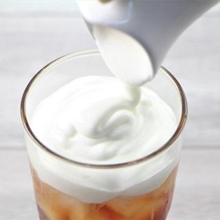 Cách Làm Kem Phô Mai - Milk Foam