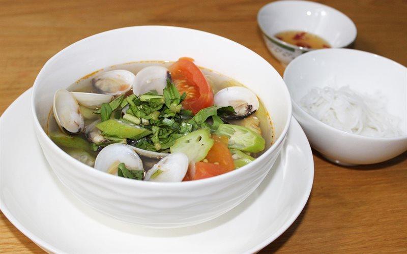 Cách Nấu Canh Ngao Chua Thanh Mát