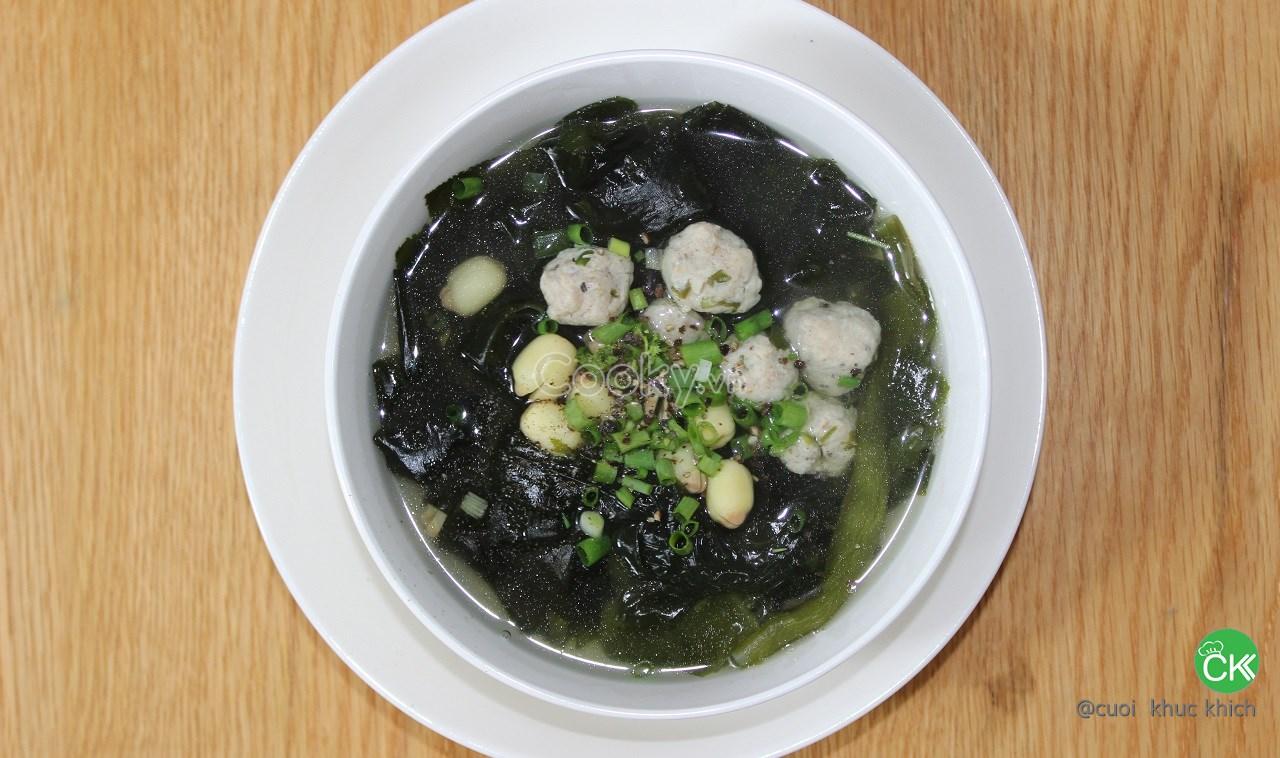 Cách Nấu Canh Rong Biển thơm ngon không bị tanh chuẩn vị Hàn Quốc   Cooky.vn