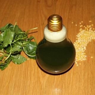 Cách làm nước đậu xanh rau má