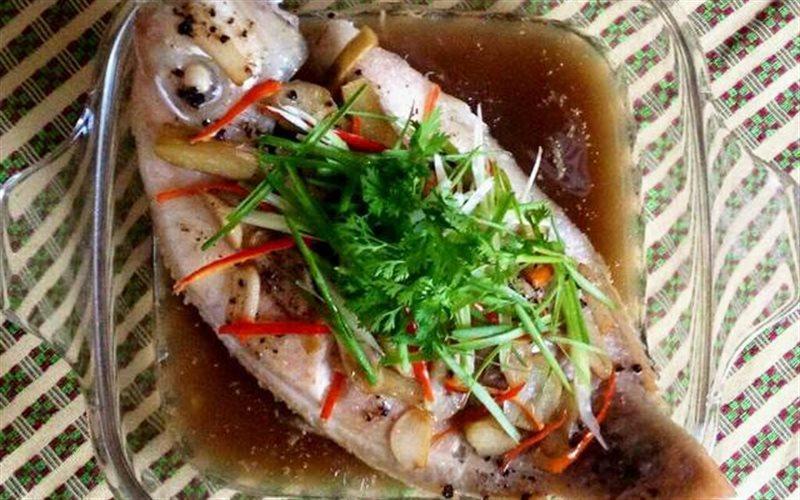 Cách làm cá diêu hồng hấp nước tương ngon