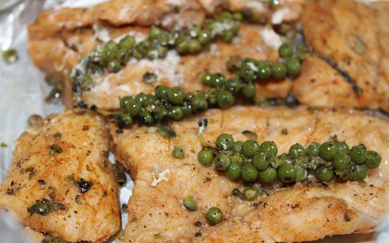 Cách làm thịt cá sấu nướng tiêu xanh