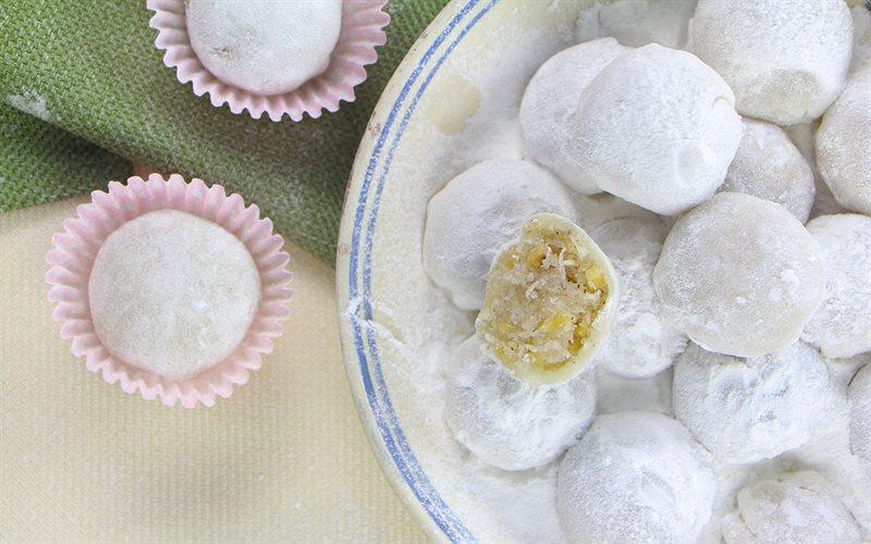 Cách Làm Bánh Bao Chỉ Nhân Dừa Đậu Phộng, Cực Ngon