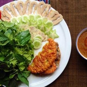 Bánh khoái miền Trung