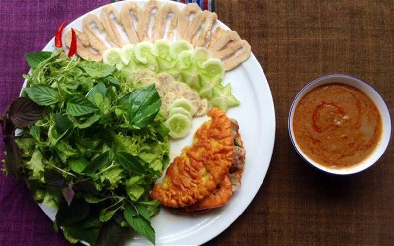 Cách làm bánh khoái miền Trung