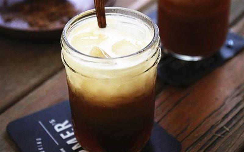 Cách làm trà sữa dừa kiểu Thái