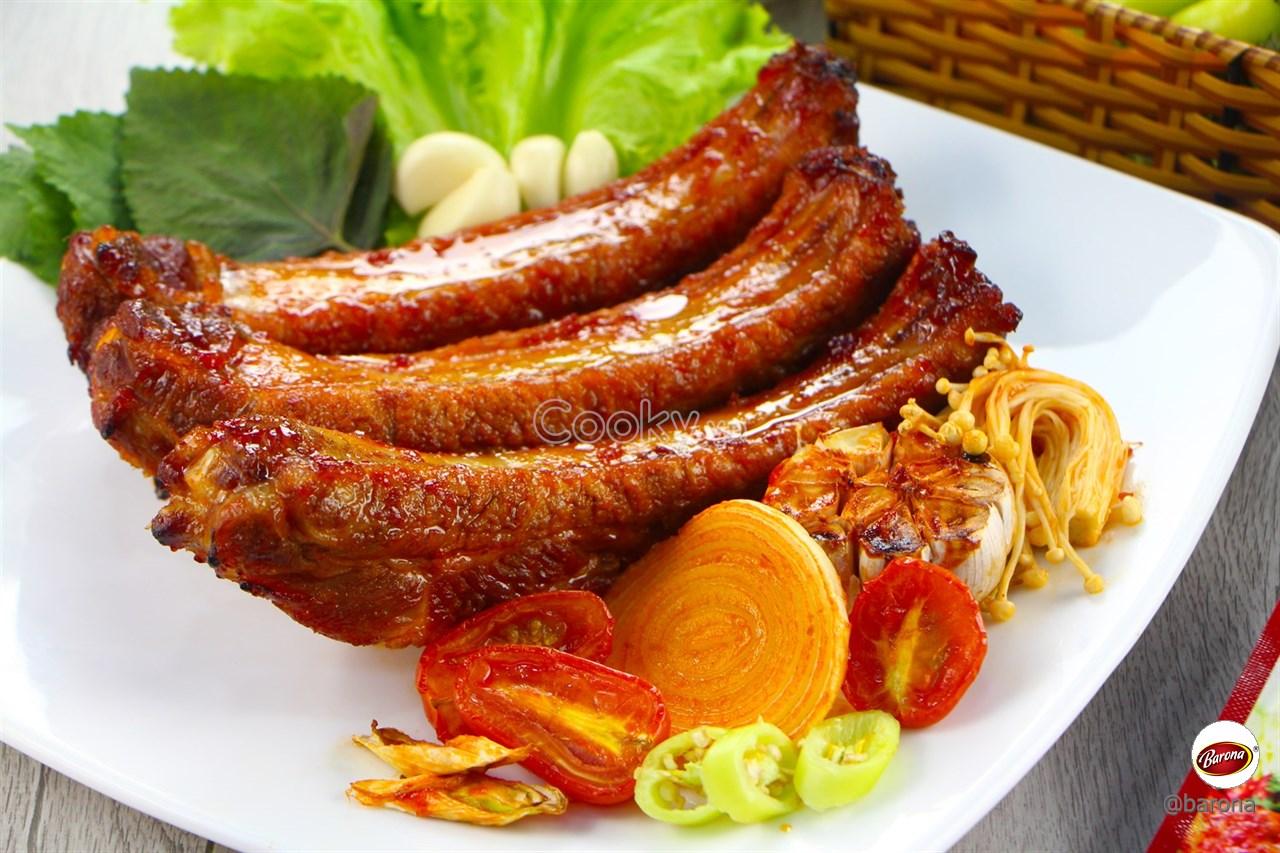 Cách ướp sườn nướng thơm ngon chuẩn vị Hàn Quốc cực đơn giản - ảnh 2.