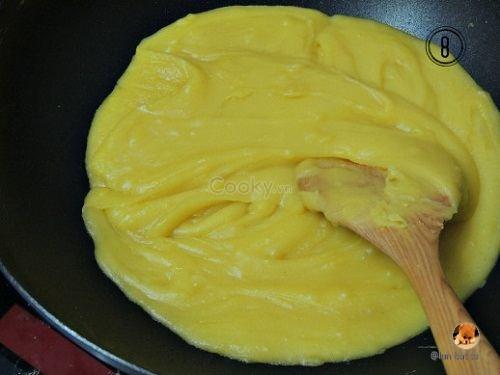 cách làm bánh trung thu tiramisu
