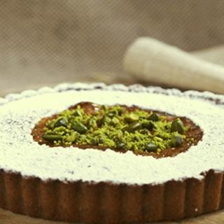 Cách làm bánh tart chocolate hạt dẻ cười