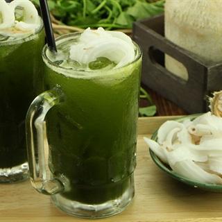 Cách Làm Rau Má Nước Dừa Ngon Mát Lạnh Giải Nhiệt