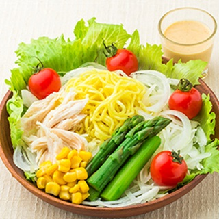 Mì ramen rau củ - Ramen noodle salad