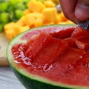 Rau câu dưa hấu trái cây