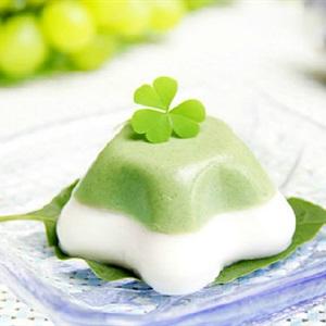 Pudding trà xanh 2 tầng